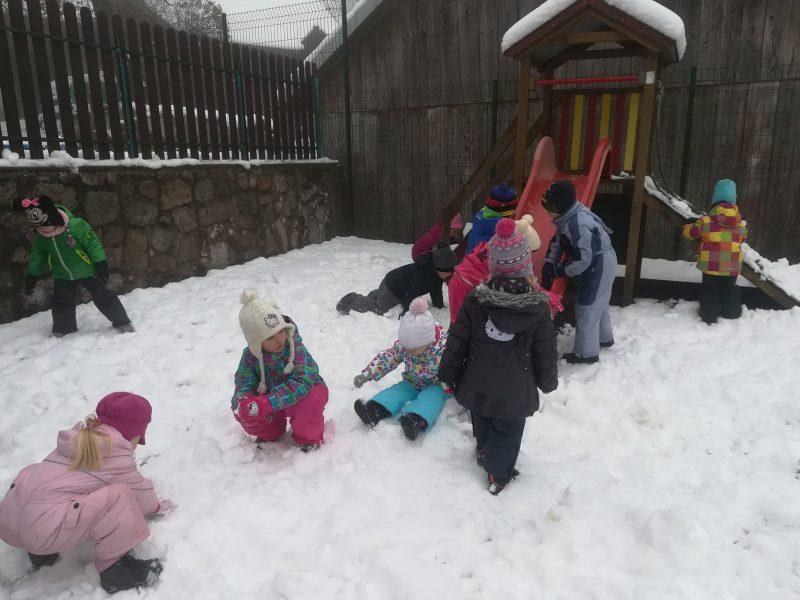 Hura, gremo na sneg!