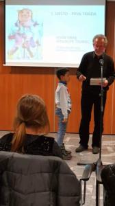 Prva nagrada na likovnem natečaju 8. bienale otroške ilustracije