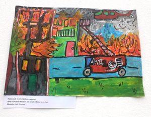 Učenca OŠ Stari trg ob Kolpi – dobitnika nagrade na likovnem natečaju ob 150-letnici gasilstva na Slovenskem