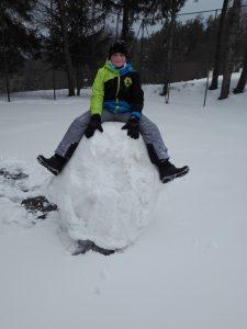 Zimski športni dan z očetom
