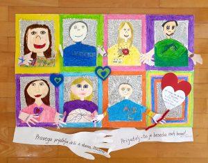 Učenci OŠ Stari trg ob Kolpi sodelujemo na natečaju 'Spodbujamo prijateljstvo'