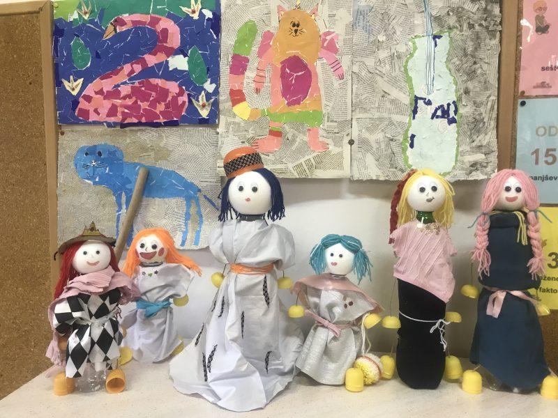 Marioneta iz odpadnega materiala
